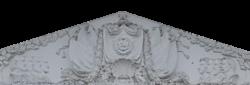 Тверь, лепнина на фасаде драматического театра, 1951 г