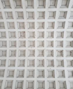 Тверь, потолок арки, Речной вокзал, 1938 г