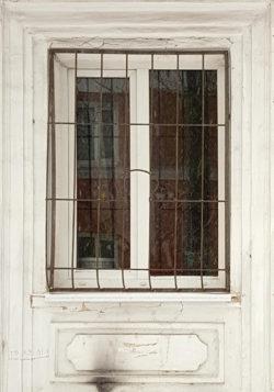 Тверь, окно типового двухэтажного дома, начало 1950-х гг