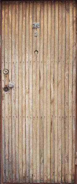 Пенза, задняя дверь хрущевки