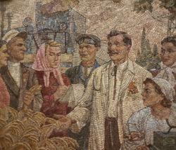 Москва, кольцевая линия метро, «Киевская», 1954 г