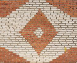 Коломна, фрагмент фасада технического здания, 1980-е гг.