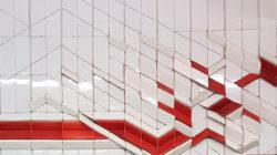 Минск, Автозаводская линия метро, «Первомйская», 1991г, стена