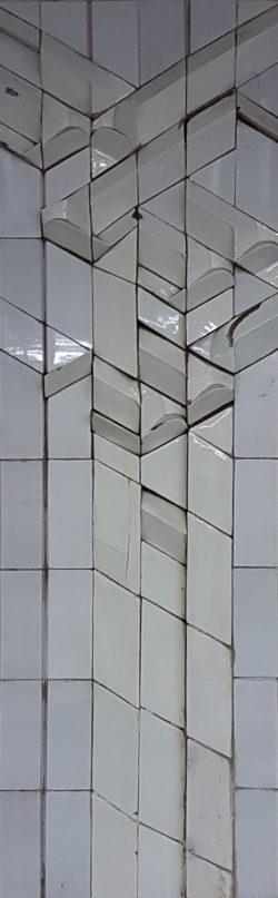 Минск, Автозаводская линия метро, «Первомйская», 1991г, колонна