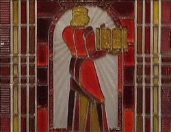 Минск, Московская линия метро, «Институт культуры», 1984г, витраж