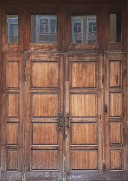 Москва, проспект Мира, дверь жилого дома, застройка 1945-1955гг