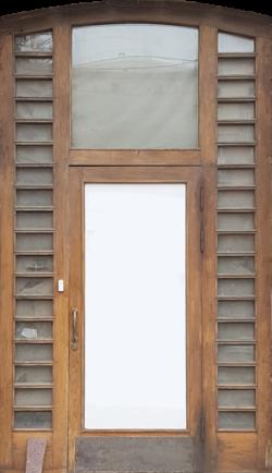 Москва, Кутузовский проспект, дверь жилого дома, застройка 1945-1955гг