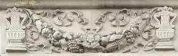 Москва, Алексеевский район, украшение на фасаде дома, застройка 1940-1950 гг.