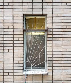 Москва, проспект Мира, окно жилого дома, застройка 1970х гг