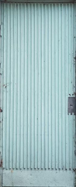 Переславль-Залесский, дверь жилого дома, застройка 1970-1980-х гг.