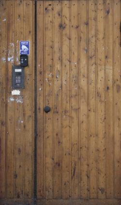 Москва, проспект Мира, дверь жилого дома, застройка 1970-х гг.