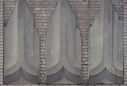 Кострома, украшение фасада жилого дома, застройка 1970-х гг.